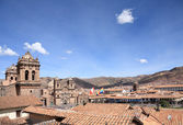 Cusco city — Stock Photo