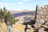 Sacsayhuaman ruins — Stock Photo
