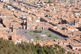Panorama of Cusco city — Stock Photo