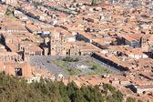 Panorama of Cusco city — Stock Photo