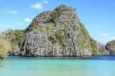 Lagoon at Coron island — Stock Photo