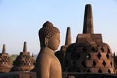 Статуя Будды в храм Боробудур — Стоковое фото