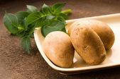 New potato — Stock Photo