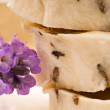 Handmade Soap With Fresh Lavender Flowers And Bath Salt — Stock Photo #6044470