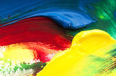 Mixing paints. background — Stock Photo