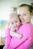Loving Mother And Little Daughter — Stock Photo