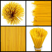 Collage di pasta — Foto Stock