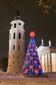 圣诞节在维尔纽斯 — 图库照片