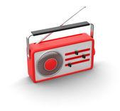 Retro radio — Stock fotografie