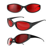 Sport glasses — Stock Photo