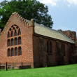 Jamestown colony church - Stock Photo