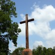 Jamestown Colonistsl Cross — Stock Photo
