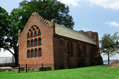 Jamestown colony church — Stock Photo