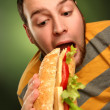 Royalty-Free Stock Photo: Unhealthy