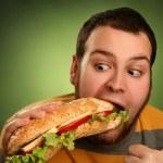 oběd na zelené — Stock fotografie