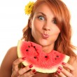 Juicy watermelon — Stock Photo #6000787