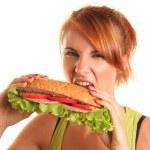 Unhealthy food — Stock Photo #6000794