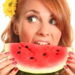 Juicy watermelon — Stock Photo #6000795
