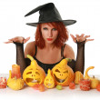 Stock Photo: Magic halloween