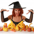 Magic halloween — Stockfoto