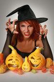 Магия Хэллоуин — Стоковое фото