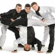 Portrait of a team of young break dancers — Stock Photo #5776459