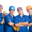 Team of construction workers — Stock Photo #5776565