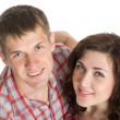 Happy young couple — Stock Photo
