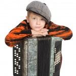 Boy wearing a cap — Stock Photo