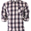 Stock Photo: Male checkered shirt on a mannequin