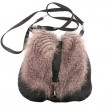 Stock Photo: Female purse with fur