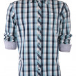 Male checkered shirt — Stock Photo