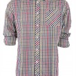 Stock Photo: Male checkered shirt