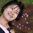 Thai woman with a big smile — Stock Photo