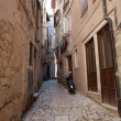 Mediterranean stone street — Stock Photo #6490605