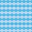Vector seamless blue pattern with blue figures — Imagen vectorial