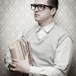 Nerd man — Stock Photo