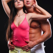 Royalty-Free Stock Photo: Fitness man and woman
