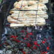 Grilled chicken - Stok fotoraf