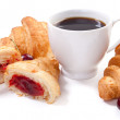 Croissants and coffee — Stock Photo #6221170