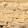 Old wall from clay adobe — Stockfoto