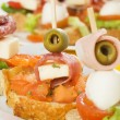 Stock Photo: Italibruschettcanape
