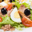 Egg and tuna salad — Foto de Stock