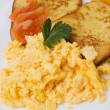 Scrambled eggs — Foto Stock