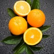 Fresh orange fruit — Stock Photo #5666195
