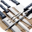 Set of kitchen knives — Stock Photo #5666534