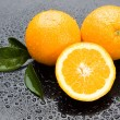 Fresh orange fruit — Stockfoto