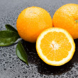 Fresh orange fruit - Stockfoto