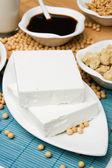 Tofu och andra sojaprodukter — Stockfoto