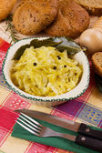 Cooked sauerkraut, traditional german meal — Stock Photo